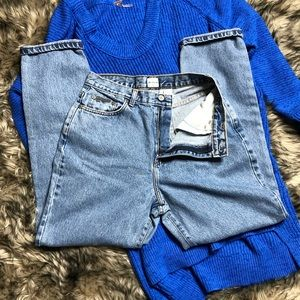🆕 Calvin Klein high waisted jeans✨